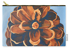 Carry-all Pouch featuring the painting Released by Erin Fickert-Rowland