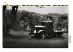 Carry-all Pouch featuring the photograph Relic Truck by Bill Wakeley