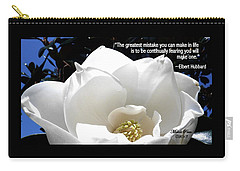 Relief 2, With Quote.  Carry-all Pouch