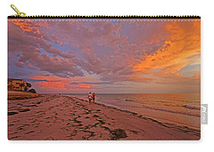Carry-all Pouch featuring the photograph Remains Of The Day by HH Photography of Florida