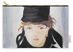 Remake Portrait Of Berthe Morisot Carry-all Pouch