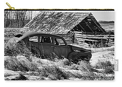 Carry-all Pouch featuring the photograph Remember The Past Work For The Future by Bob Christopher