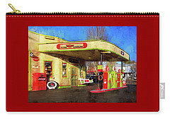 Carry-all Pouch featuring the photograph Remember When There Was Service by Thom Zehrfeld
