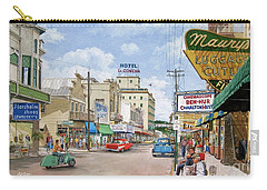 Carry-all Pouch featuring the painting Remembering Duval St. by Bob George
