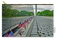 Remembrance Of Patriotism Carry-all Pouch