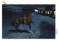 Remington Frederic An Arguement With The Town Marshall Carry-all Pouch