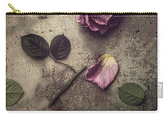 Carry-all Pouch featuring the photograph Remnants by Amy Weiss