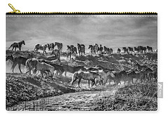 Remuda Crossing Carry-all Pouch by Joan Davis