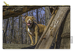 Remy In Tree Oil Paint More Pop Carry-all Pouch