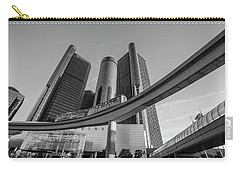 Renaissance Center And People Mover Carry-all Pouch
