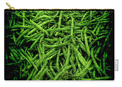 Renaissance Green Beans Carry-all Pouch