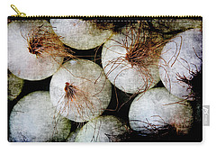 Renaissance White Onions Carry-all Pouch
