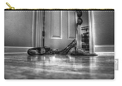 Rendezvous Do Not Disturb 05 Bw Carry-all Pouch by Andy Lawless