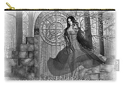 Carry-all Pouch featuring the digital art Rendezvous by Shadowlea Is