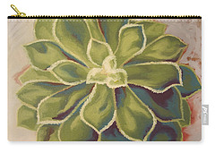 Carry-all Pouch featuring the painting Renewed by Erin Fickert-Rowland