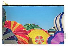 Carry-all Pouch featuring the photograph Reno Balloon Races by Bill Gallagher