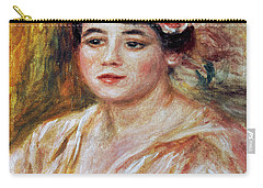 Renoir: Adele Besson, 1918 Carry-all Pouch by Granger