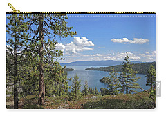 Carry-all Pouch featuring the photograph Replete With Beauty by Lynda Lehmann