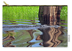 Carry-all Pouch featuring the photograph Reptile Ripples by Al Powell Photography USA