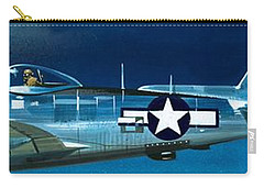Republic P-47n Thunderbolt Carry-all Pouch by Wilf Hardy