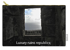 Republics And Monarchies Carry-all Pouch by Ian  MacDonald