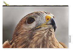 Rescued Hawk Carry-all Pouch