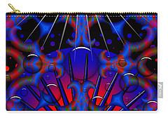 Carry-all Pouch featuring the digital art Resist by Robert Orinski