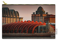 Carry-all Pouch featuring the photograph Resort World Sentosa by Ray Shiu