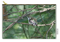 Carry-all Pouch featuring the photograph Chubby by Barbara S Nickerson