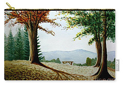Rest Area Carry-all Pouch by Stacy C Bottoms