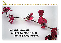 Rest In His Presence Carry-all Pouch