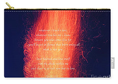Rest In Love Carry-all Pouch