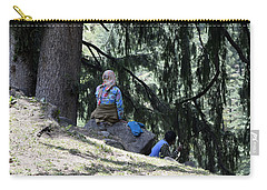 Rest On The Hills Carry-all Pouch