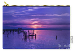 Rest Well World Purple Sunset Carry-all Pouch