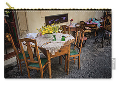 Restaurant In Sicily  Carry-all Pouch by Patrick Boening