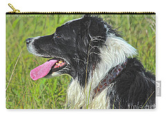 Carry-all Pouch featuring the photograph Resting by Ann E Robson