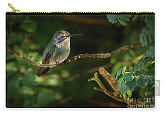 Carry-all Pouch featuring the photograph Resting Anna by Robert Bales