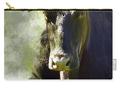Resting Cow Carry-all Pouch