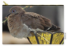 Resting Dove Carry-all Pouch