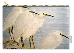 Resting Egrets Carry-all Pouch