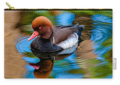 Resting In Pool Of Colors Carry-all Pouch by Christopher Holmes