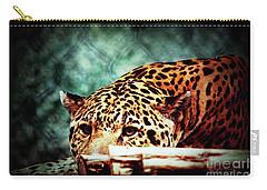 Resting Jaguar Carry-all Pouch