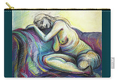 Resting Place  Carry-all Pouch by Kerryn Madsen-Pietsch