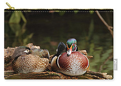 Resting Wood Ducks Carry-all Pouch