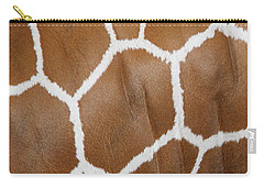 Reticulated Giraffe #2 Carry-all Pouch