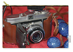 Carry-all Pouch featuring the photograph Retina by John Schneider