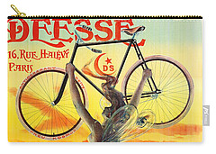 Retro Bicycle Ad 1898 Carry-all Pouch