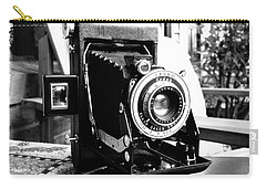 Carry-all Pouch featuring the photograph Retro Camera by Daniel Dempster
