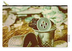 Retro Craft Buckets Carry-all Pouch