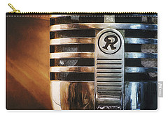 Retro Microphone Carry-all Pouch by Scott Norris